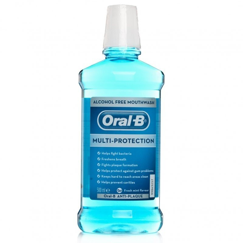 Mouth wash alcohol